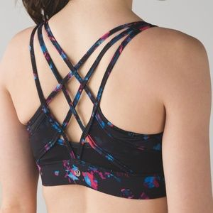 lululemon athletica Intimates & Sleepwear - Lululemon Strap It Like It's Hot Bra Black 6